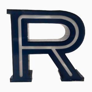 Beleuchteter Vintage Buchstabe R