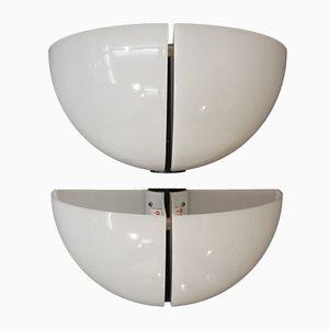 Lampade da parete Spicchio di Danilo & Corrado Aroldi per Stilnovo, 1973, set di 2
