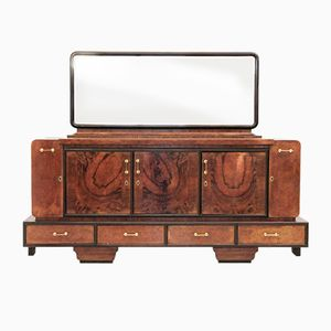 Big Italian Art Deco Sideboard, 1930s