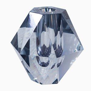 Vase Diamond en Verre Coupé par Asta Strömberg pour Strömbergshyttan