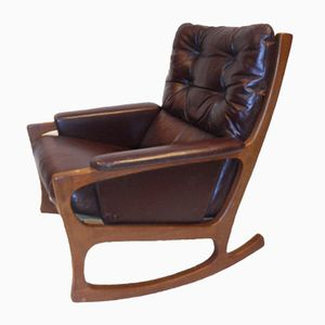 Mid-Century Nordic Style Rocking Chair