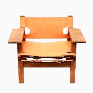 Chaise par Børge Mogensen pour Fredericia