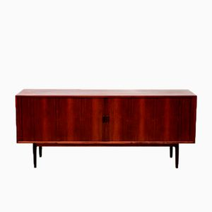 Roswood Sideboard with Tambour Doors by Arne Vodder for Sibast, 1960s