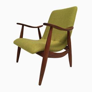 Easy Chair Scandinave en Teck par Louis van Teeffelen pour Wébé, 1950s