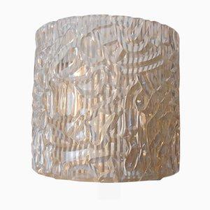 Moderne Wandlampe aus Messing & Plexiglas von Heifetz Rotaflex, 1960er