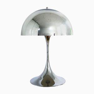 Chrom Panatella Tischlampe von Verner Panton für Louis Poulsen
