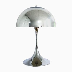 Chrome Panatella Table Lamp by Verner Panton for Louis Poulsen