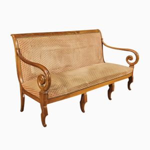 French Sofa in Walnut, 1850