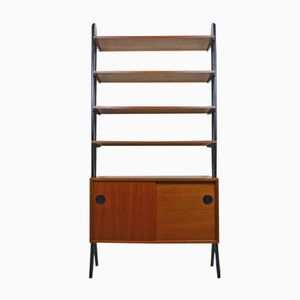 Danish Teak Shelving Unit, 1950s
