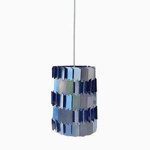 Dänische Mid-Century Facet Pop Deckenlampe von Louis Weisdorf für Lyfa