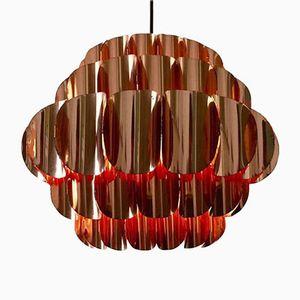 Vintage Copper Pendant by Thorsten Orrling for Hans Agne Jakobsson
