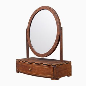 Small Biedermeier Dressing Table Mirror, 1830s