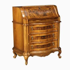 Venetian Bureau in Walnut and Burr Walnut