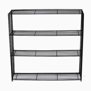 Wire Bookcase Wall Unit by Tjerk Reijenga for Pilastro