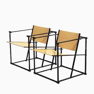 FM61 Armlehnstühle von Radboud van Beekum für Pastoe, 2er Set