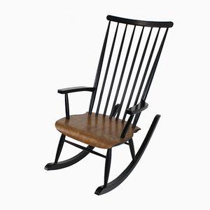 Mid-Century Finnish Rocking Chair by Varjosen Puunjalostus for Uusikylä