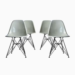 DSR Chairs by Charles Eames for Herman Miller, 1960, Set of 4