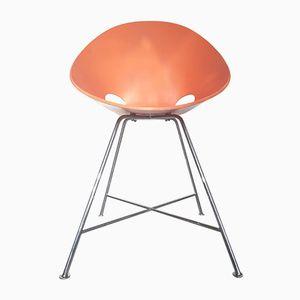 Stuhl aus Schichtholz von Eddie Harlis für Thonet, 1980er