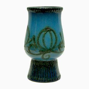 Vase Vintage en Céramique de Strehla