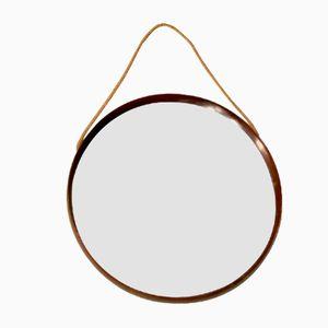 Round Italian Wall Mirror, 1960s
