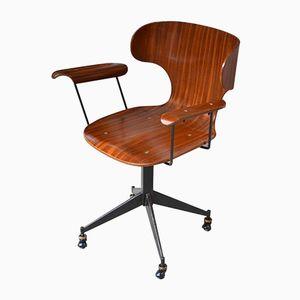 Chaise de Bureau Vintage par Carlo Ratti