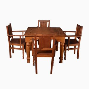 Indian Solid Wood Dining Set