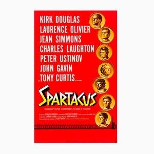 Amerikanisches Vintage Spartakus Filmplakat von Saul Bass & Reynold Brown, 1960