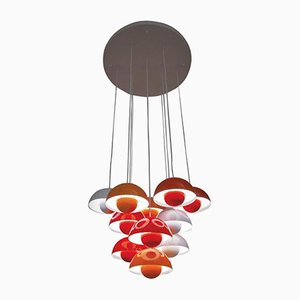 Flower Pot Hanging Lamp by Verner Panton for Louis Poulsen, 1968