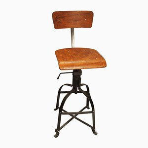 Industrial Model 204 Workshop Chair from Bienaise, 1950