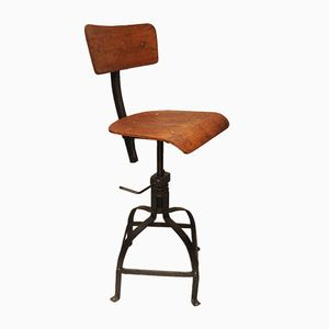 Industrial Workshop Chair from Bienaise, 1950
