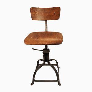 Chaise de Bureau Industrielle de Bienaise, 1950