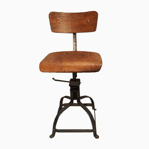 Industrial Desk Chair from Bienaise, 1950