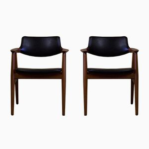 Vintage GM 11 Dining Chairs by Svend Age Eriksen for Glostrup, Set of 2