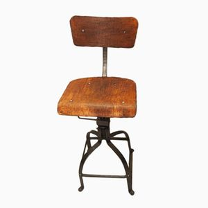 Model 204 Industrial Workshop Chair from Bienaise, 1950