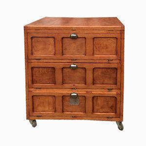 Vintage Baker's Cabinet, 1950s