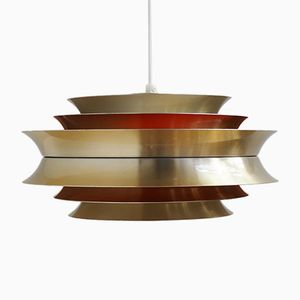 Brass Trava Pendant by Carl Thore for Granhaga, 1960s