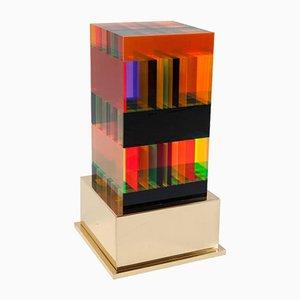 Lampe DNA en Acrylique Moulé par Studio Superego pour Poliedrica