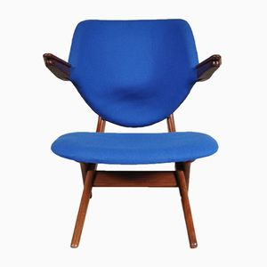 Blue Pelican Chair by Louis van Teeffelen for WéBé