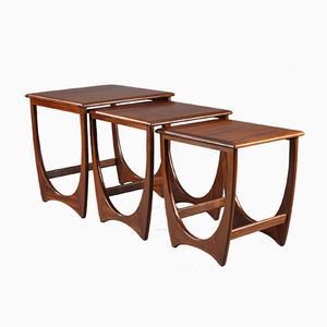 Astro Teak Nesting Tables by Victor Wilkins for G-Plan