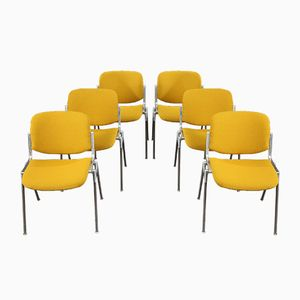 DSC 106 Chairs by Giancarlo Piretti for Castelli, 1970s, Set of 6