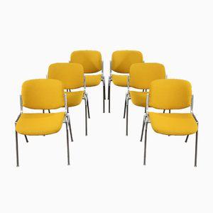 DSC 106 Stühle von Giancarlo Piretti für Castelli, 1970er, 6er Set