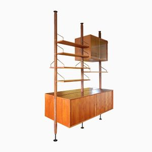 Royal Wall Unit by Poul Cadovius for Royal System, 1960s