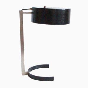 Black Table Lamp by JJM Hoogervorst for Anvia, 1950s