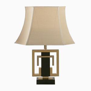 Brass Table Lamp by Guy Lefevre for Maison Jansen, 1970s