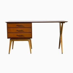 Mid-Century Modern Partners Schreibtisch von Renzo Rutili für Johnson Furniture Company