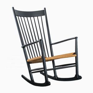 Rocking Chair J16 Mid-Century par Hans J. Wegner pour FDB Mobler, 1973