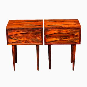 Mid-Century Night Stands in Rosewood by Arne Vodder for Sibast Møbler, Set of 2
