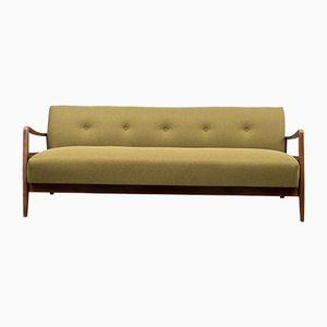 Mid-Century Beech Sofa Bed, 1950s