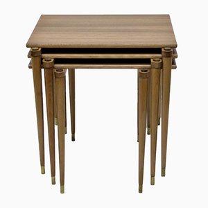 Tables Gigognes en Teck de A-B.S Ljungqvist Furniture Factory, 1960s