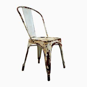 Industrieller Stuhl aus Stahl von Xavier Pauchard für Tolix, 1930er